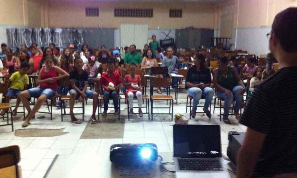 2014 - Circuito CIne Éden, no Mais Cinema na Escola 02 2