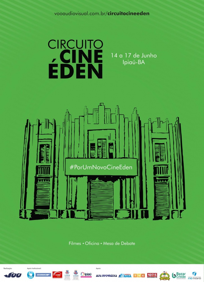 2017 - Circuito Cine Éden - Cartaz